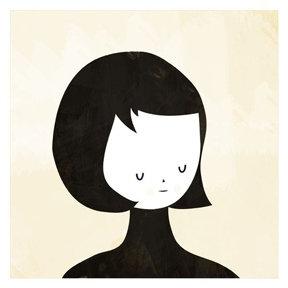Blanca Gomez Thinking Print