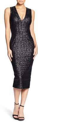 Dress the Population Rani Open Back Sequin Dress