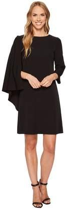 Anne Klein Cape Sheath Dress Women's Dress