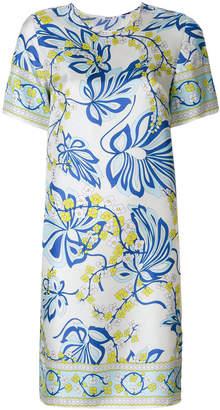 P.A.R.O.S.H. floral print mini dress
