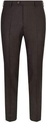 Pal Zileri Melange Slim Leg Trousers
