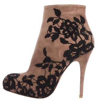 Valentino Suede Ankle Boots Suede Ankle Boots
