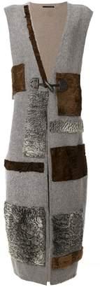 Maurizio Pecoraro fur patchwork jacket