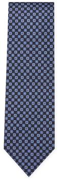 BrioniGeometric and Floral Silk Tie