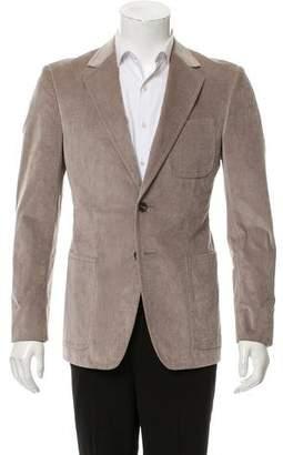 Gucci Patch Pocket Two-Button Blazer