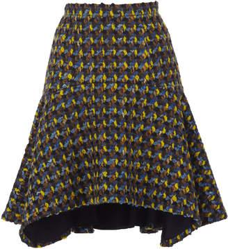 DELPOZO Asymmetric Hem Skirt