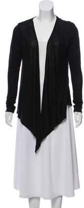 Calypso Open Front Linen Cardigan