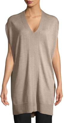 Derek Lam Women's V-Neck Cashmere Tunic
