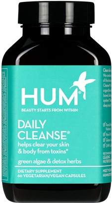 HUM NUTRITION Daily Cleanse(R) Clear Skin and Body Detox Dietary Supplement