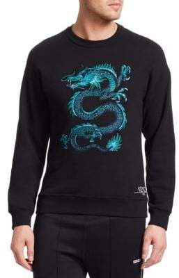 Kenzo Embroidered Dragon Crewneck Sweater