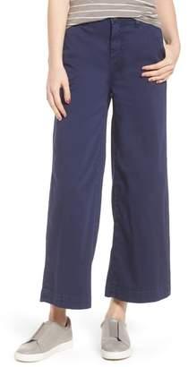 Caslon Wide Leg Crop Pants