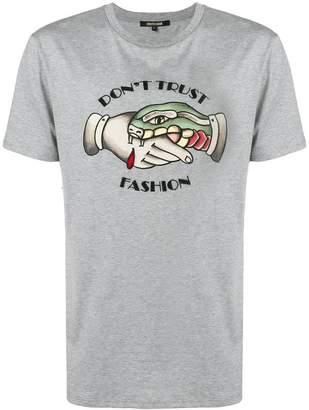 Roberto Cavalli Don't Trust Fashion T-shirt