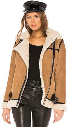 AllSaints Rei Shearling Jacket