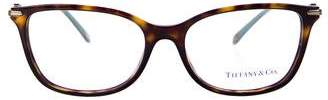 Tiffany & Co. Embellished Tortoiseshell Eyeglasses