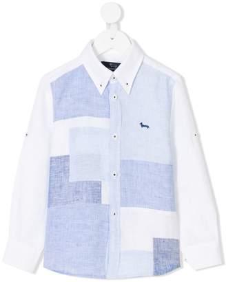 Harmont & Blaine Junior patchwork-effect shirt