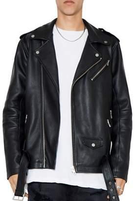 PATRON SAINT OF Oden Leather Biker Jacket