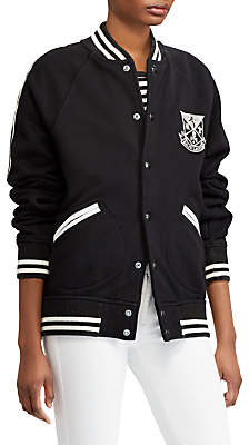 Ralph Unlined Embroidered Blazer, Polo Black