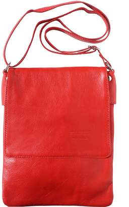 Florence Leather Market Soft leather cross body bag made with genuine and soft calf leather 416