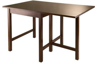 Winsome Lynden Drop-Leaf Dining Table, Antique Walnut