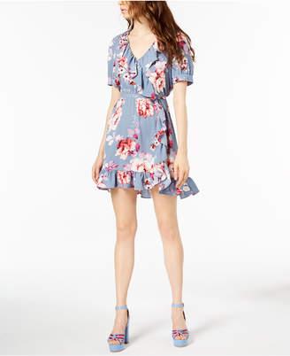 Jill Stuart Ruffled Wrap Dress, Created for Macy's