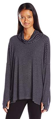Lucy-Love Lucy Love Women's Montauk Stripe Dolman Sweater
