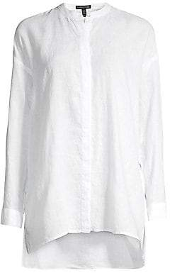 Eileen Fisher Women's Organic Linen Blouse