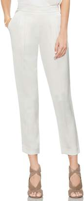 Vince Camuto Slim Leg Crop Satin Pants