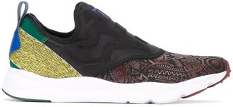 Reebok multi print sneakers $86.92 thestylecure.com