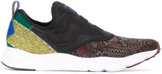 Reebok multi print sneakers $86.61 thestylecure.com