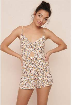 Garage Twist Front Romper