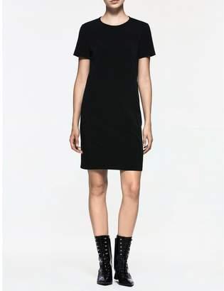 Calvin Klein platinum stretch short sleeve dress