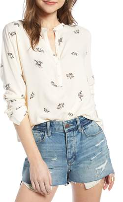 Treasure & Bond Tie Back Blouse