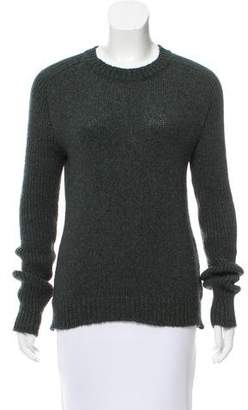 Balmain Crew Neck Wool & Alpaca-Blend Sweater