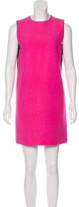 Victoria Victoria Beckham Wool Bi-Color Dress