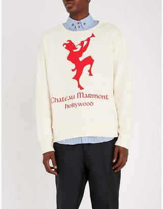 Gucci Chateau Marmont cotton-jersey T-shirt