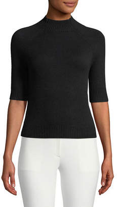 Theory Jodi B Cashmere Mock-Neck Sweater