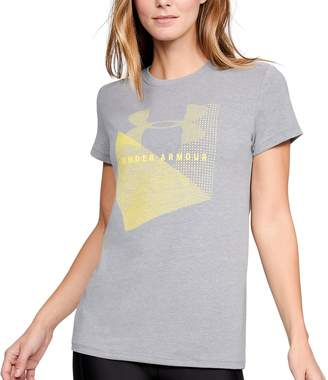 Under Armour Women's Sportstyle Logo Crew Graphic Tee