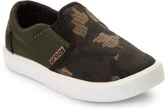 Crocs Toddler Boys) Camo Citilane Novelty Slip-On Sneakers
