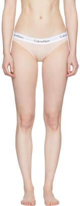 Calvin Klein Underwear Pink Modern Cotton Bikini Briefs