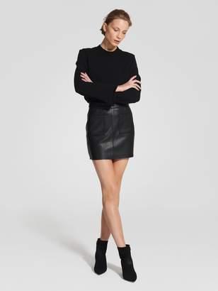Nobody Leather Mini Black Leather