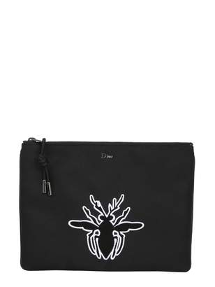 Christian Dior Large Clutch With Bee