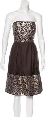 Lela Rose Silk Embellished Dress w/ Tags