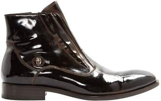 Cesare Paciotti Patent leather boots