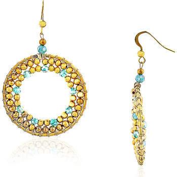 Fashionvictime Ohrringe Ohrringe Damen - Messing Modeschmuck - Kristall
