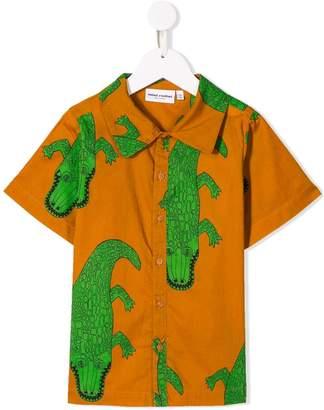 Mini Rodini crocodile print shirt