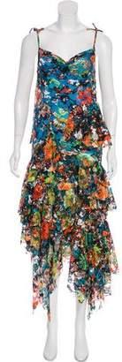 Marques Almeida Marques' Almeida Mesh Maxi Dress