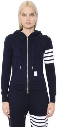 Intarsia Cotton Jersey Zip-Up Sweatshirt $690 thestylecure.com