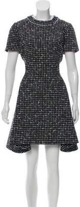 Christian Dior Tweed A-Line Dress