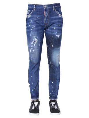 DSQUARED2 skater fit jeans