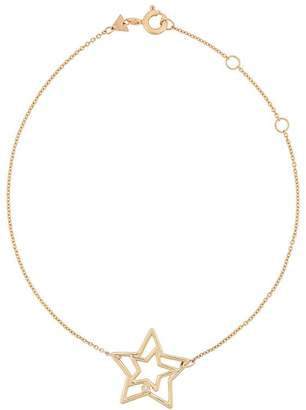 ALIITA 9kt yellow gold diamond Estrella Brillante bracelet